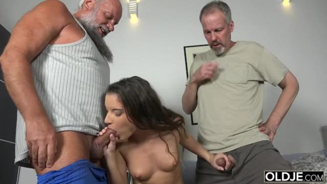 Erotic double penetration clips
