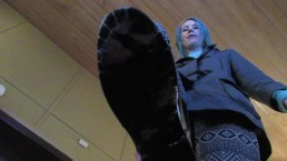 Lux Lives Giantess Snowy Boot Worship