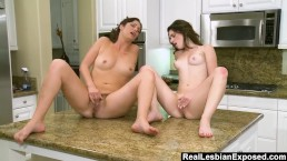 RealLesbianExposed - Women Eats Out Roommates Young Teen Pussy