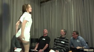 Old Gangbang by old manspussy fucking fingering gagging