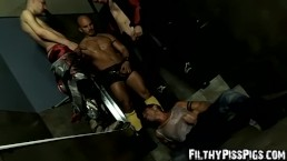 Yenier has fetish orgy with Peto Coast and Marcel Hoffman