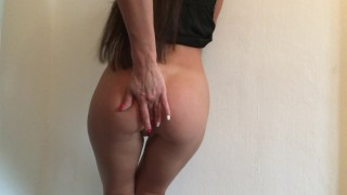 Gorgeous Ksenia Plays With Herself. Anal And Pussy Playing