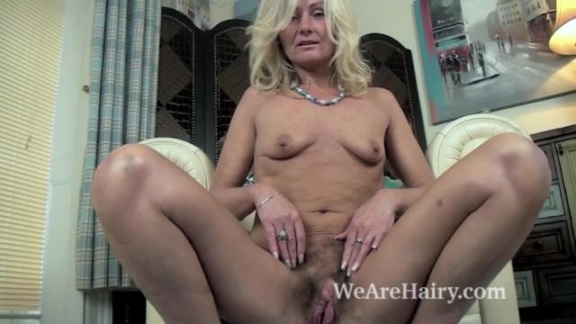Fat hairy men naked - Ellen b gets naked on her white armchair