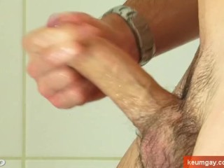 Beny handsome with monster cock hard on...