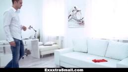 ExxxtraSmall - Fucking Tiny Skinny Teen With Huge Cock