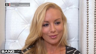 BANG Confessions Kayden Kross sexy lap dance leads to ass fucking porno