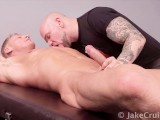Gavin Waters Massaged by Jasun Mark