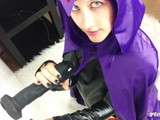 Raven Practices For Cyborgs Big Cock (Teen Titans Parody)