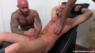 Connor Maguire Jerked & Tickle Tortured