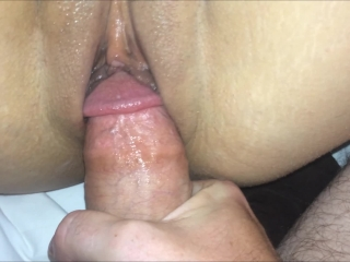 Asian Pussy Play and Cumshot after Fucking (Wiping Precum all over Pussy!)
