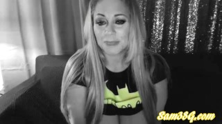 Show g live cosplay batwoman cam as samantha part blonde milf