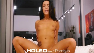 Megan fucked and dick holed by anal fingered rain thick pornstar babe megan