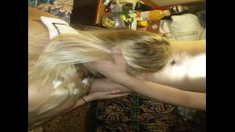 blonde sailor teen getting fucked by two cocks part 2