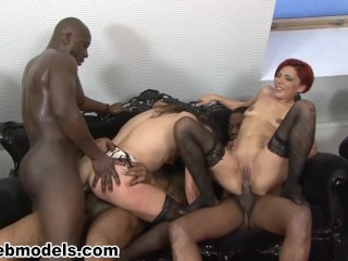 Fucked orgy with dp double penetration wow...