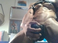 Man Tool Intense Slow Grinding Solo Masturbating JO Session
