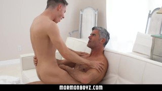 mormonboyz - Handsome cult leader fucks quiet submissive boy Muscle point