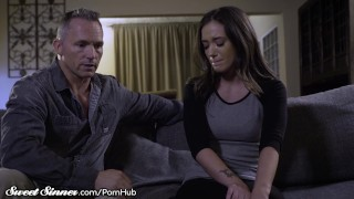 Gia Paige Fulfils Her Fantasy of Fucking Her Stepdad