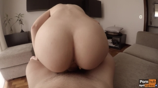 Morning creamy quickie to celebrate one million views ♡ (WITH CREAMPIE!) Petite thai