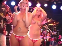 Hot Blondes Bikini Contest Out Of Control