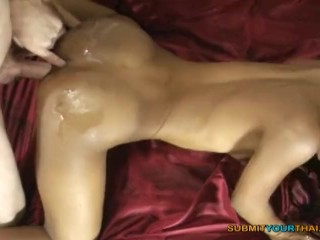 Pregant taking huge cock