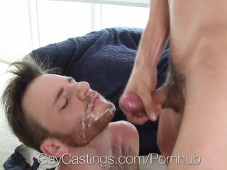 GayCastings Casting agent fucks Brody Fields tight asshole