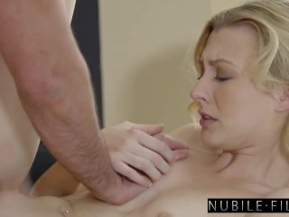 NubileFilms – Pretty Banged With Stunning Blonde