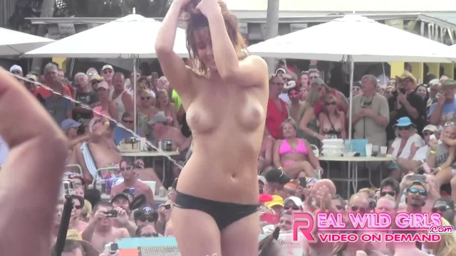 Enter nude contests Wild nude slut contest key west pool party pt.2