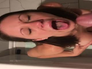 Cum on my face