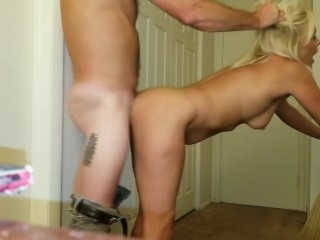Home...After Work...Getting Fucked