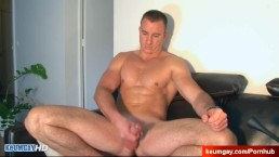 Don't wank my big cock, i'm not into guys. (Alex french str8 guy)