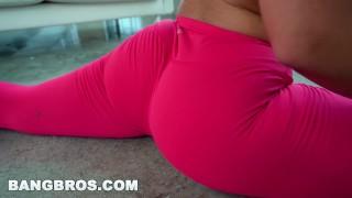 BANGBROS - Big Ass Babe Kesi Monroe Gets a Booty Call Latina swallows