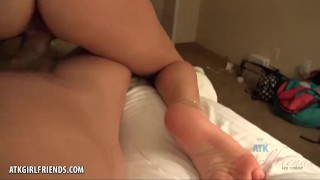 Makenna is so hot for your cum in Hawaii