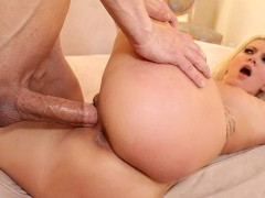 TEENGONZO Blonde Layla Price goes balls deep on big cock