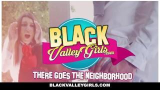 BlackValleyGirls - Preppy Perky Ebony Fucks Popular Jock