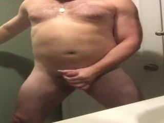 Pitt sniffing, nip teasing, jackoff and cum