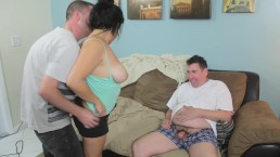 Marina loses bet and fucks Rocky the neighborhood bum-full vid in premium