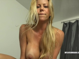Hot MILF Alexis Fawx makes a sex tape