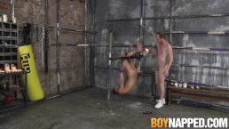 Koby Lewis fucks Sean Taylor in sex the sex dungeon