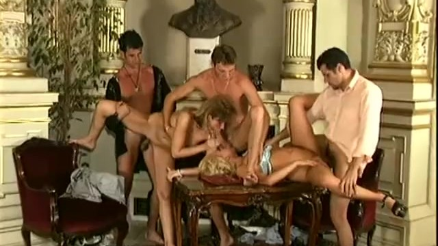 Orgy eva Dp orgy with eva bond and nicolette