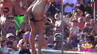 Nude Fantasy Fest Key West POOL PARTY Strip Off