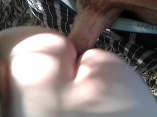 Penny gets naughty in the woods part 2