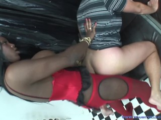 Lonely guy fantasizes about tranny in the ass...