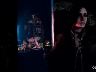 A Fateful Night: Ciri & Geralt [desiresfm]
