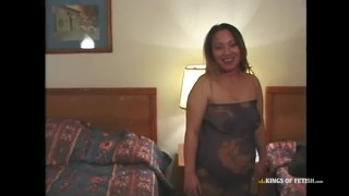 Horny pregnant asian babe sucks and fucks 3 Orgy doggystyle