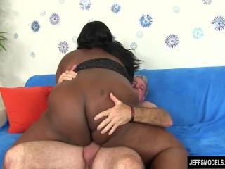 Ebony plumper daphne daniels fucked...