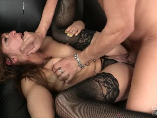 BANG Casting: Sara Luvv Gets Choked Out During Her Audition