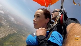 The News @ Sex Skydiving With Lisa Ann! Pt 2