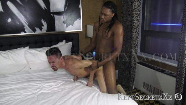Fat black gay dick Big dick pornstar pounds a sexy short young latino with a fat hole all raw