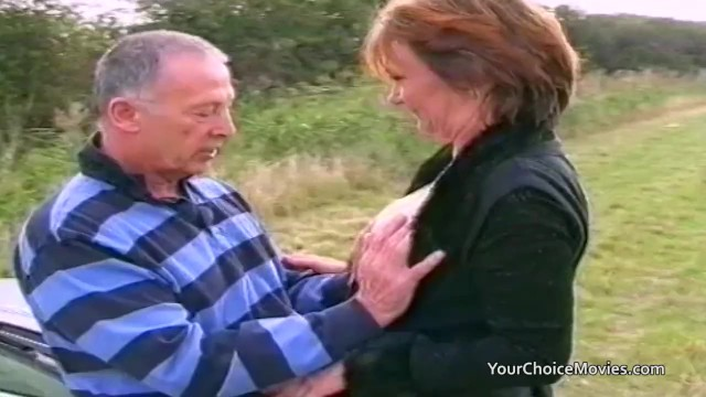 Sex aids for older couples Older mature couple risky outdoor sex