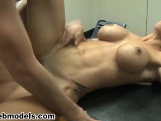 Big Tits MILF Cougar Boss JEWELS JADE Fucked by Employee Gets Huge Cum Load
